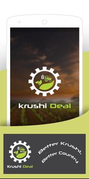 Krushi Deal - Agriculture Commodity Market Price poster