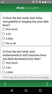 Psoriasis Calculator apk screenshot
