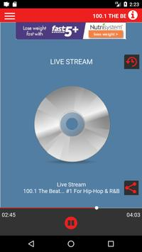 100.1 The Beat poster