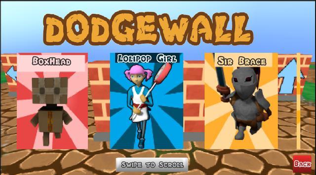 DodgeWall screenshot 1