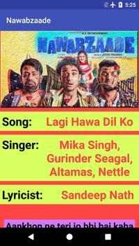 Nawabzaade Movie Songs Lyrics screenshot 1