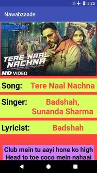 Nawabzaade Movie Songs Lyrics screenshot 4