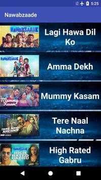 Nawabzaade Movie Songs Lyrics screenshot 6