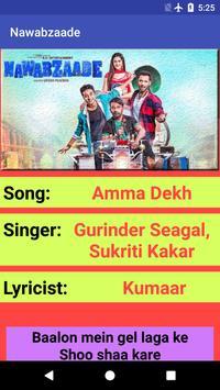 Nawabzaade Movie Songs Lyrics screenshot 8