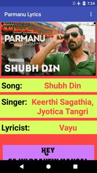 Parmanu Movie Songs Lyrics screenshot 6