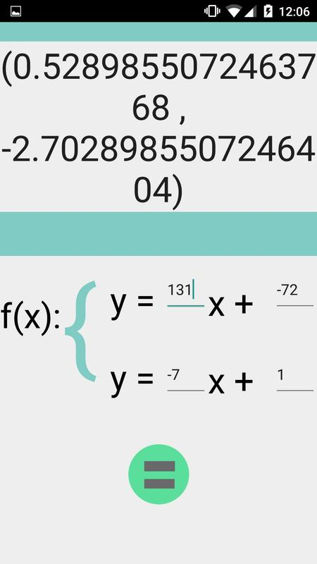 System of Equations Calculator APK Download - Free Education APP for ...