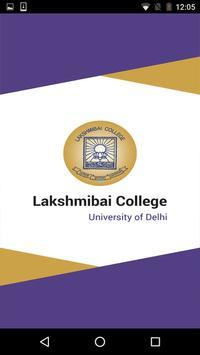 Lakshmibai College poster