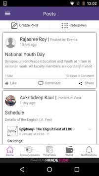 Lakshmibai College apk screenshot