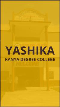 YASHIKA KANYA DEGREE COLLEGE poster