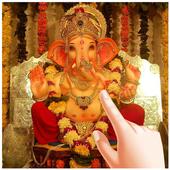 Ganesha Water Ripple Live Wallpaper icon