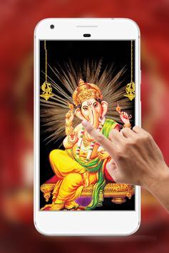Ganesha Water Ripple Live Wallpaper poster