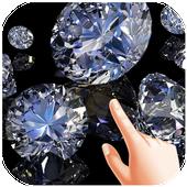 Diamond Water Ripple Live Wallpaper icon