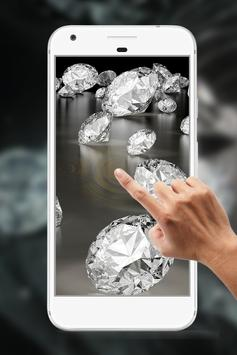 Diamond Water Ripple Live Wallpaper screenshot 3