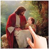 Jesus Water Ripple Live Wallpaper icon