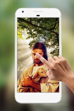 Jesus Water Ripple Live Wallpaper poster