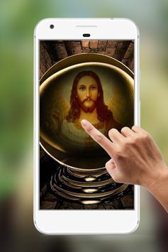 Jesus Water Ripple Live Wallpaper apk screenshot