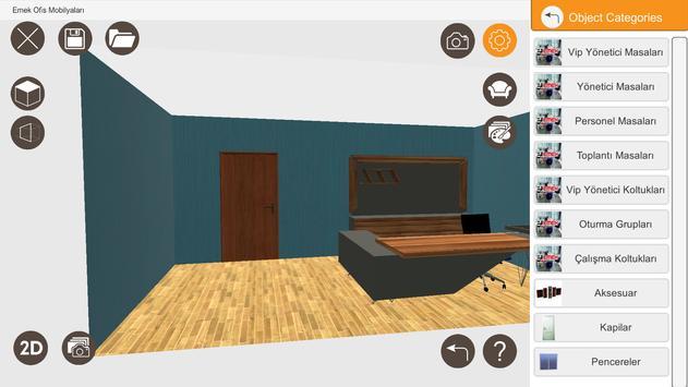 Emek Ofis Designer apk screenshot