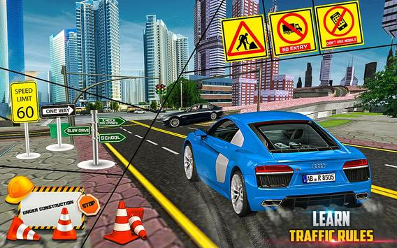 New Traffic Addictive School 3D Sim screenshot 13