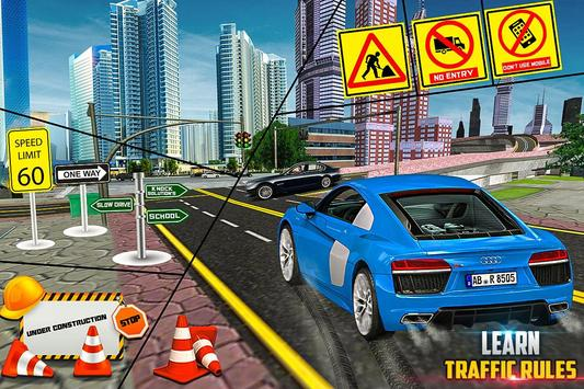 New Traffic Addictive School 3D Sim screenshot 1