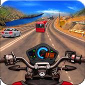 Highway Bike Riding Free Bike Games icon