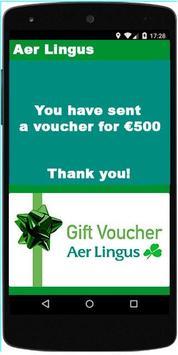 Aer Lingus Voucher apk screenshot