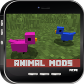 Animal MODS For MC Pocket icon