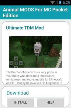 Animal MODS For MC Pocket apk screenshot