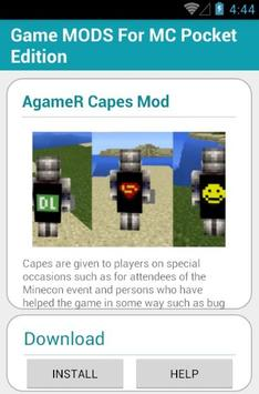 Game MODS For MC PocketEdition screenshot 4