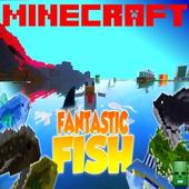 Fantastic Fish Mod MCPE icon