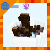 Skyblock Survival Challenge. Map for MCPE icon