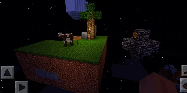 Skyblock Survival Challenge. Map for MCPE screenshot 4