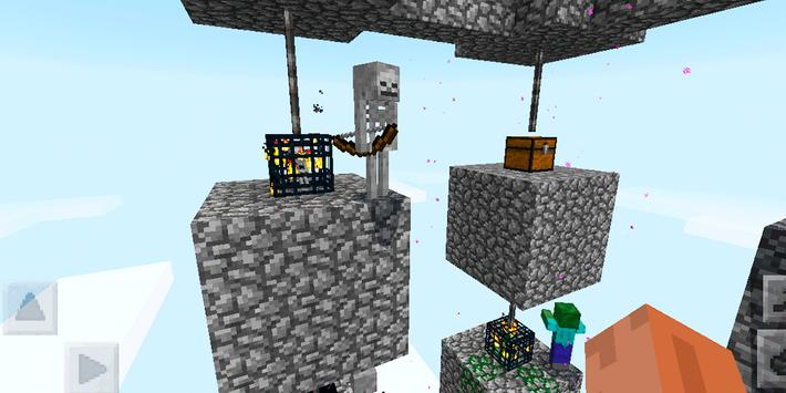 Skyblock Survival Challenge. Map for MCPE screenshot 8