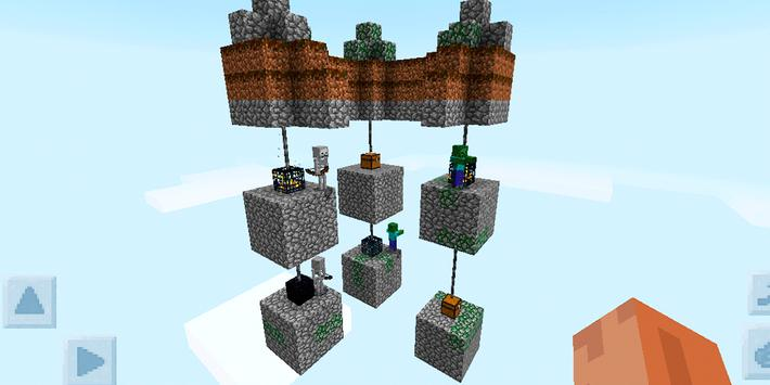 Skyblock Survival Challenge. Map for MCPE screenshot 9