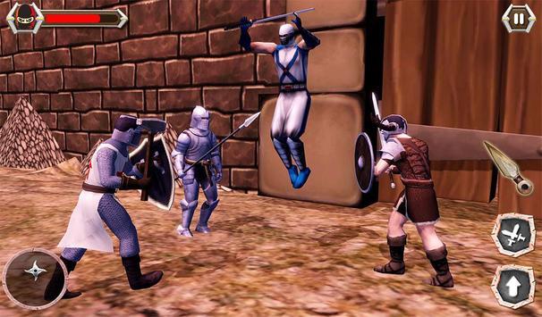 Ninja Castle Fighting - Assassin War 2019 screenshot 13