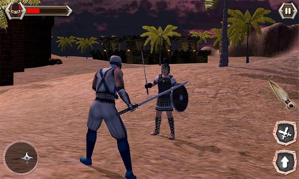 Ninja Castle Fighting - Assassin War 2019 screenshot 1