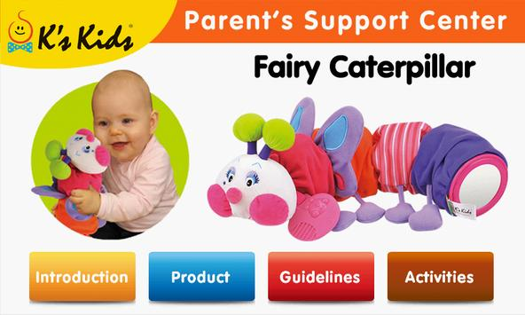 Fairy Caterpillar poster