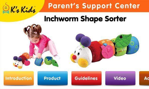 Inchworm Shape Sorter poster