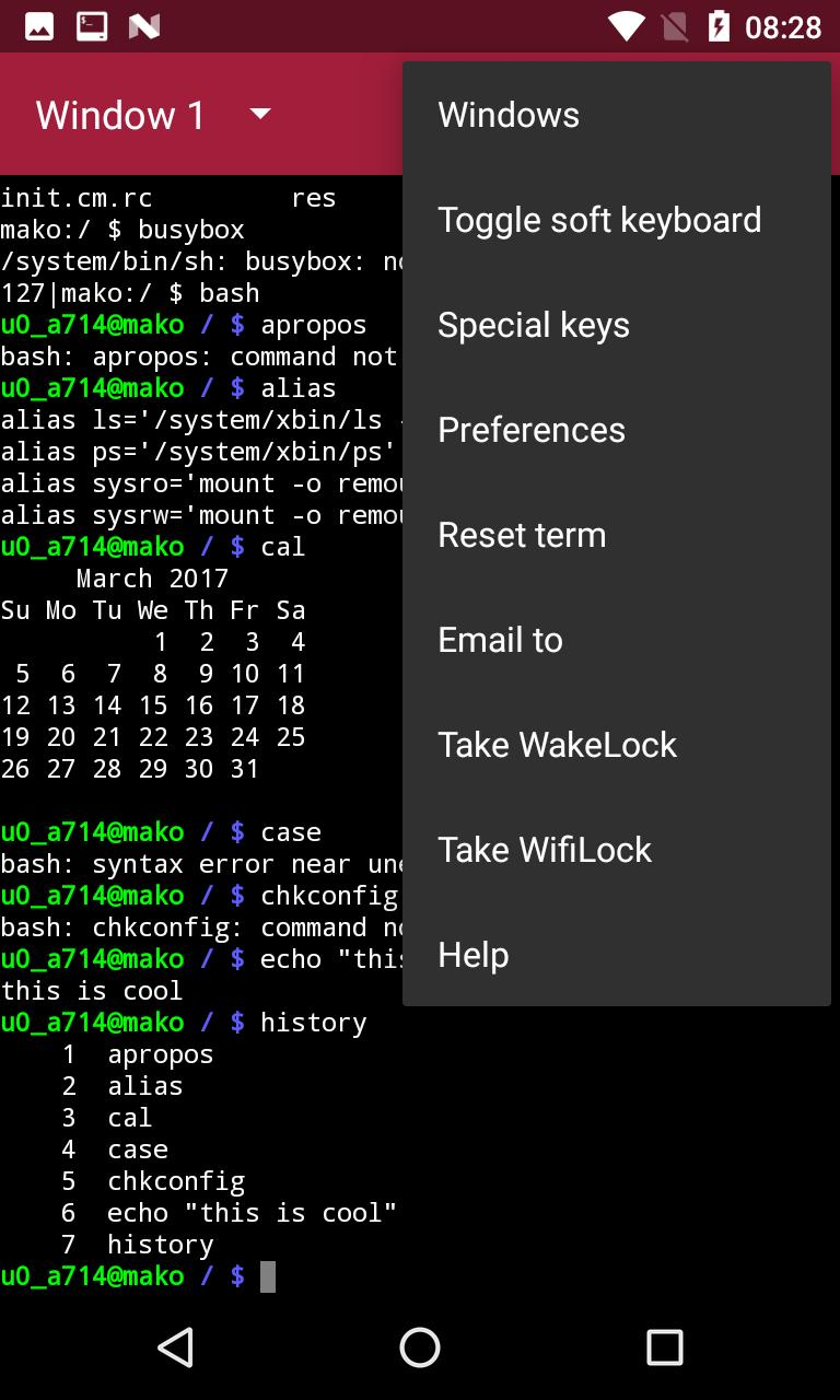 Terminal Emulator for Android - APK Download