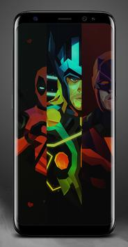 Cool DP Wallpaper Superhero FanArt apk screenshot
