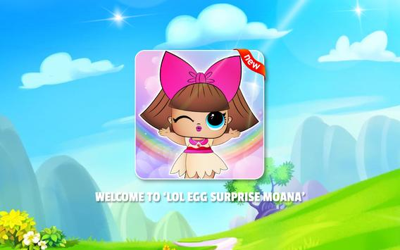 Lol Surprise  💕 Eggs Moa Dolls poster