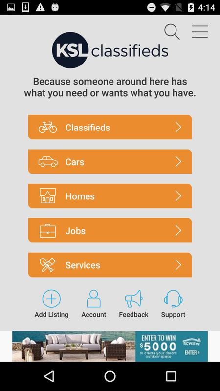 KSL Classifieds APK Download - Free Shopping APP for ...