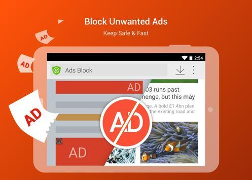 CM Browser 獵豹瀏覽器 廣告攔截 影片下載的神器 ,隱私又安全的瀏覽器 apk 截圖