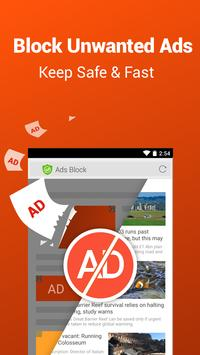 CM Browser - Ad Blocker , Fast Download , Privacy poster