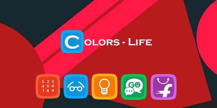 Colors Life Icon Pack | Theme poster