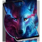 Ice Wolf Live Screen Lock icon
