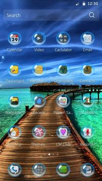 Maldives Theme apk screenshot