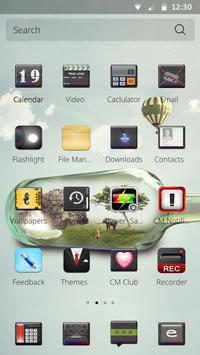 Bottle abstract screenshot 2