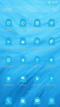 Blue Fur Theme screenshot 2