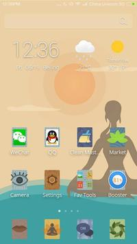 Yoga CM Launcher Theme poster