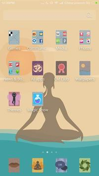 Yoga CM Launcher Theme apk screenshot